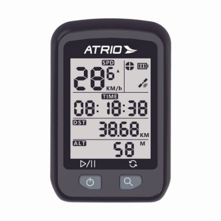Ciclocomputador c/ GPS Atrio Iron