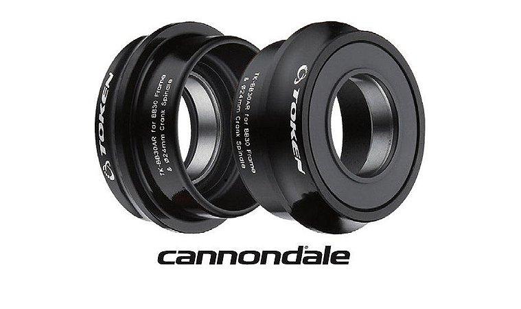 Movimento Central Token BB30A Cannondale - Shimano 24mm