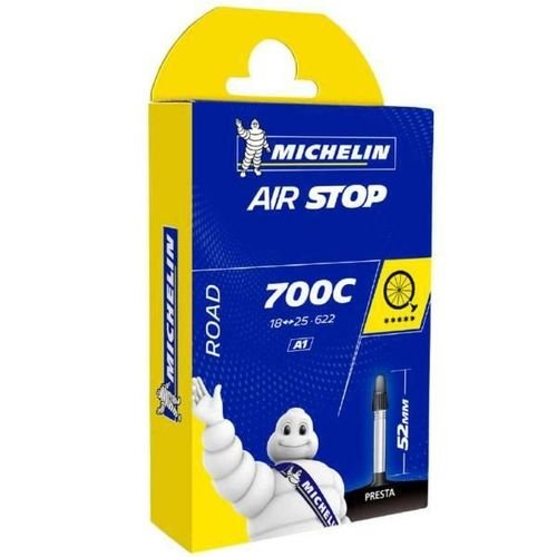 Câmara de Ar Speed Michelin Air Stop 700x18/25 Presta 52mm