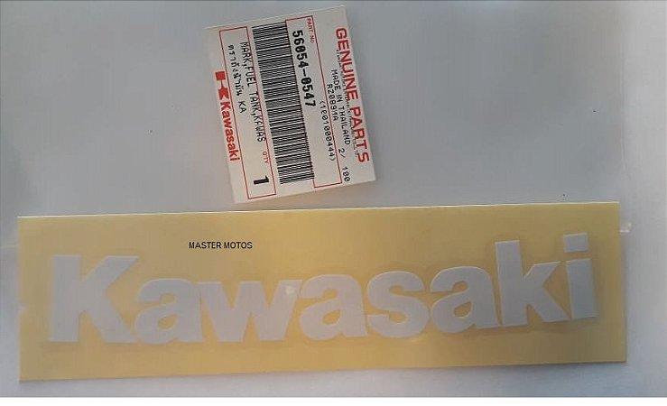ADESIVO TANQUE COMB KAWASAKI NINJA 250 2009-10 AZUL  56054-0547