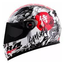 capacete ls2 ff358 diego pierluigi samurai.