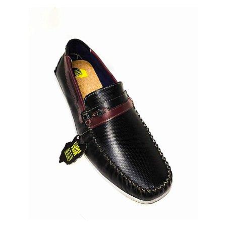 Sapato Masculino West Fran MLB-3548002 Casual Preto