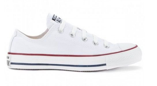 Tênis All Star Chuck Taylor Unissex CT0001001 Casual Branco Lona