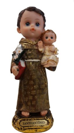 Imagem Santo Antônio infantil 20cm