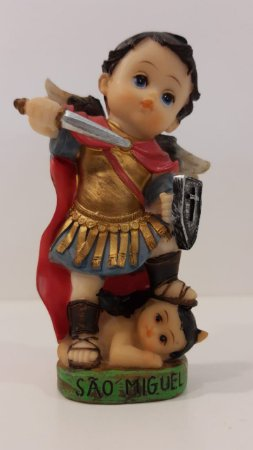 Imagem de São Miguel Arcanjo infantil 12cm