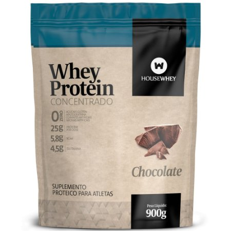 WHEY PROTEIN CONCENTRADO - CHOCOLATE - 900g