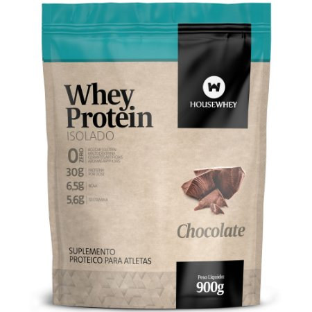 WHEY PROTEIN ISOLADO - CHOCOLATE - 900g