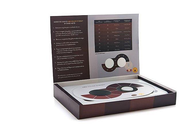 Caixa ABG Color System - Pressca – Escala de Cores de Café Torrado