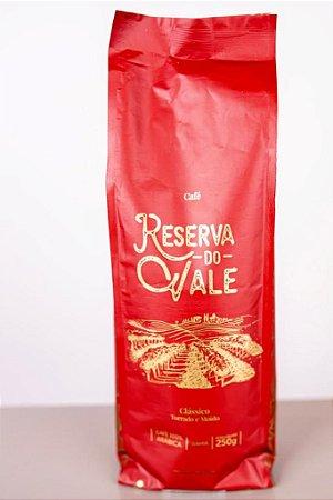Café Torrado e Moído - Clássico - Reserva do Vale - 250g