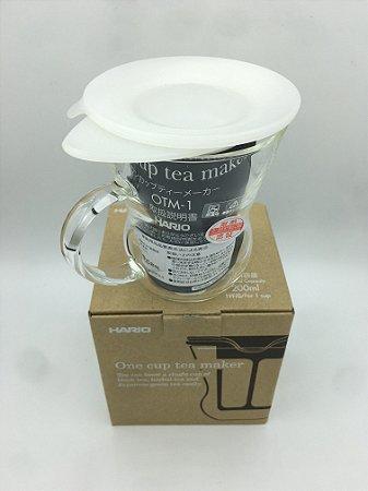 Infusor de Chá Médio Hario - Branco - 200ml