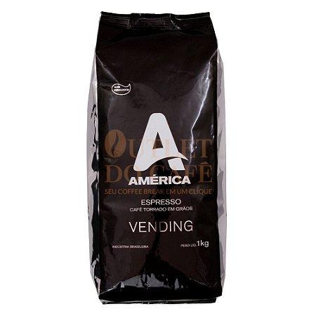 Café América Vending em Grãos 1kg