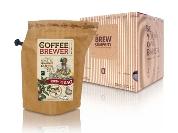 Infusor de Café The Coffee Brewer Brazil - 12 unidades