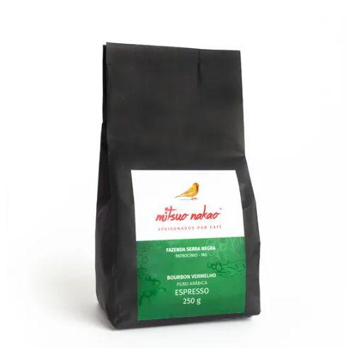 Café em Grãos Bourbon - Mitsuo Nakao - 250g