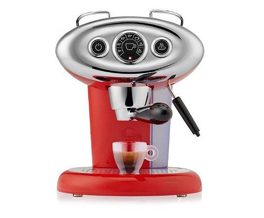 Máquina para Cápsulas - Café iperEspresso illy Francis Francis X7.1 Vermelha 120v