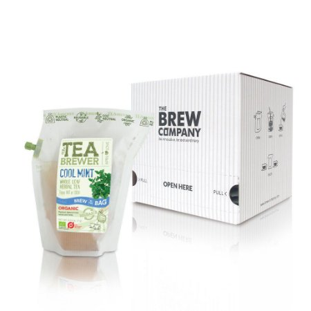 Infusor de Chá The Coffee Brewer - Cool Mint Organic - 15 pacotes