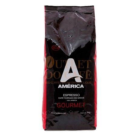 Café América em Grãos Gourmet  - 1kg