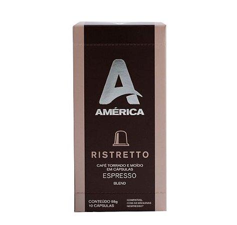 Café em Cápsulas América Ristretto - 10 Unidades