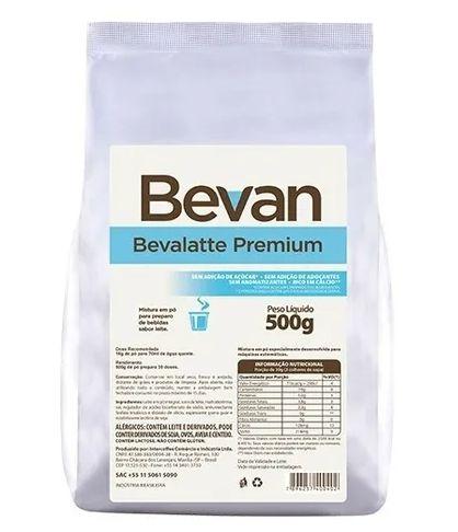 Leite Em Pó Solúvel Bevalatte Premium - S/ Açúcar - Bevan - 500g
