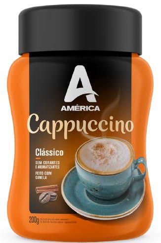 Cappuccino América Clássico - Pote de 200g