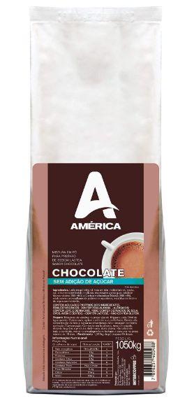 Chocolate América sem Açúcar - 1,050kg