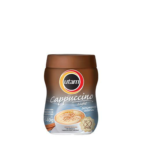 Cappuccino Utam Light - Pote de 200g