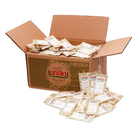 Açúcar Refinado Sachê União - Caixa com 400 x 5g