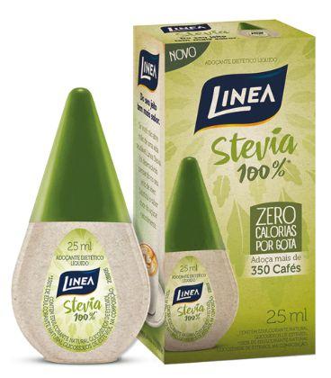Adoçante Líquido Stévia 100% Linea - 25ml