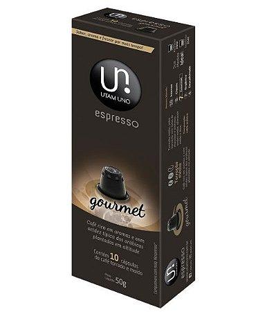 Cápsulas de Café Utam Uno - Gourmet - 10 unid.