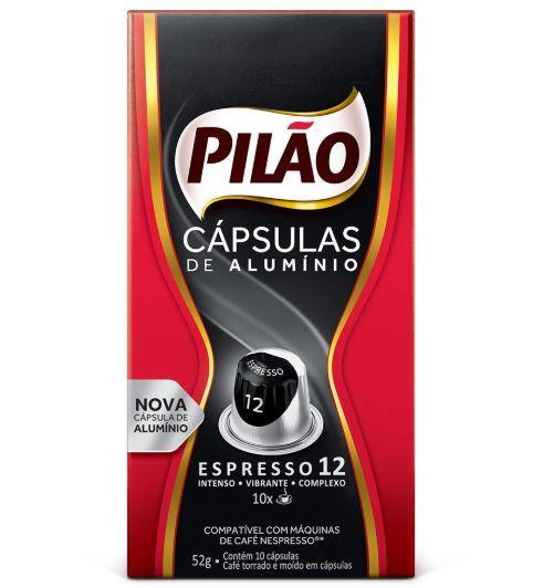 Cápsulas de Café Pilão - Espresso 12 - 10 unid.