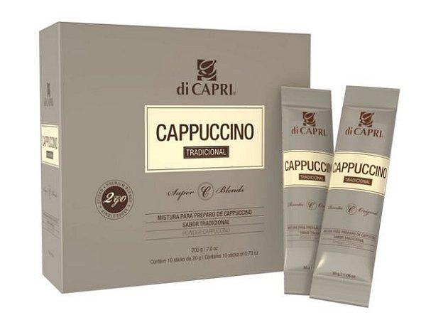 Cappuccino Tradicional Sticks 2GO DiCapri - 10 sachês de 20g