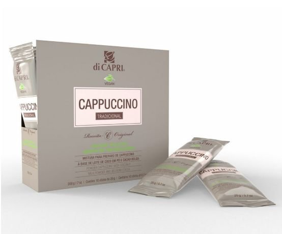 Cappuccino Sticks VEGAN 2GO DiCapri - 10 sachês de 20g
