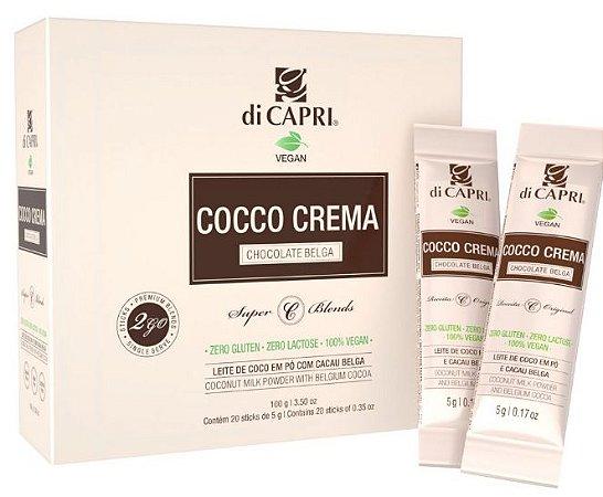 COCO CREMA Choco Belga Sticks VEGAN 2GO DiCapri - 20 de 5g