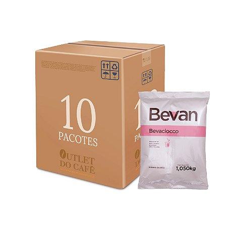 Chocolate Bevaciocco - Bevan - 1kg - Caixa c/ 10 unid.