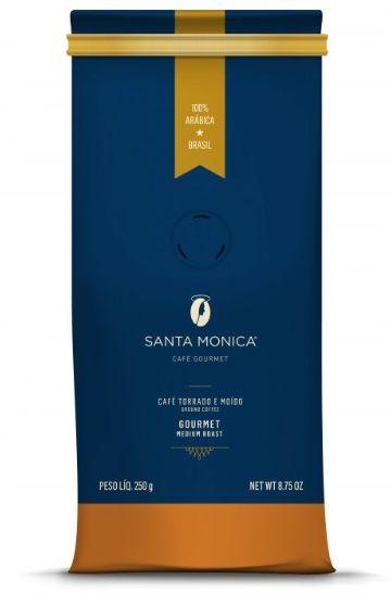 Café Torrado e Moído Gourmet Santa Monica - 250g