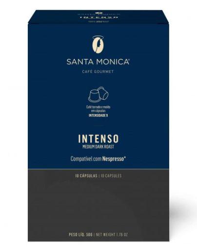 Café em Cápsulas Santa Monica Intenso - 10 unid.