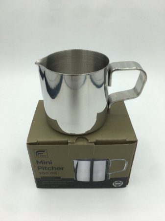 Leiteira Mini Pitcher FPRO Inox Polido - 100ml