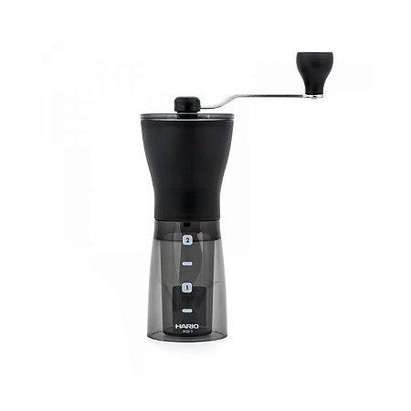 Moedor de Café Manual Hario Slim Fumê 24g