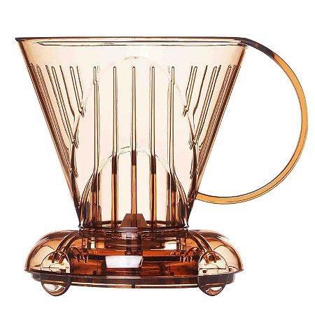 Clever Suporte para Filtrar Café 500 ml - c/ Filtro branco 100 unid.