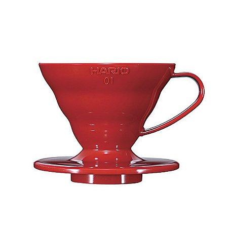 Coador Hario V60 Acrílico Vermelho Tamanho 02