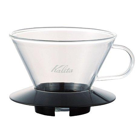 Suporte de Filtro de Café Kalita Wave 185 Preto