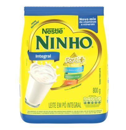 Leite em Pó Integral Ninho Sachê - Nestlé - 800g