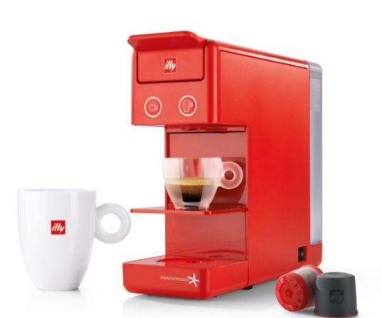 Máquina para Cápsulas - Café iperEspresso Illy Y3.3 - Vermelha - 127v