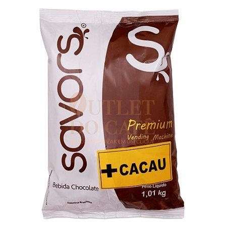 Chocolate em pó Savors + CACAU Premium 1.010KG