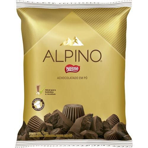 Achocolatado em Pó Alpino Nestlé - 1Kg