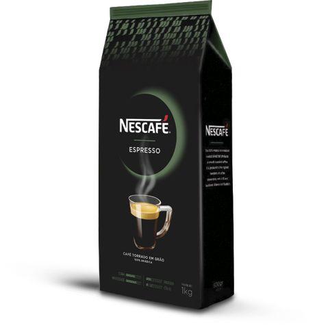 Café em Grãos NESCAFÉ® Espresso Vending Nestlé - 1kg