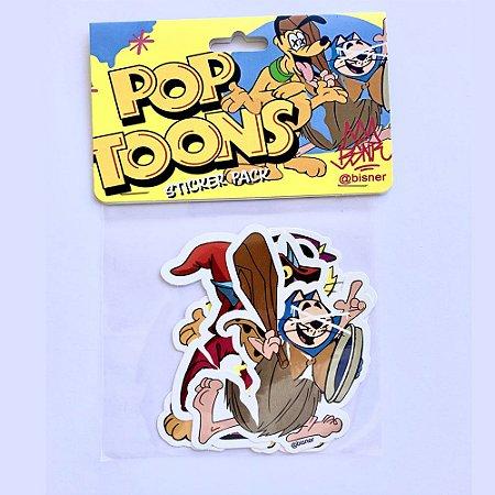 Pop Toons Sticker Pack