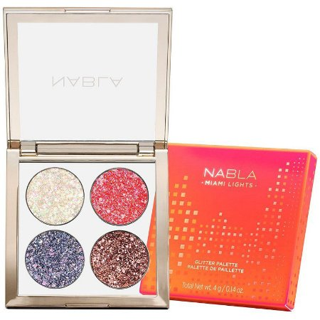 Nabla Miami Lights Glitter Palette