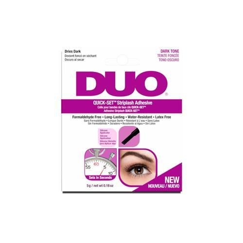Cola Duo QUICK SET STRIPLASH - Preta