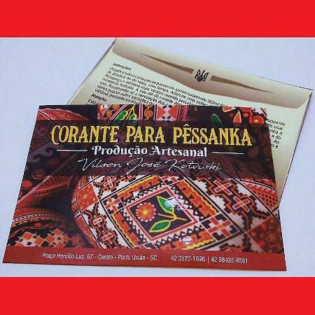 Tinta para pêssanka - corante VERMELHO