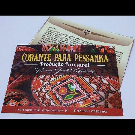 Tinta para pêssanka - corante PRETO